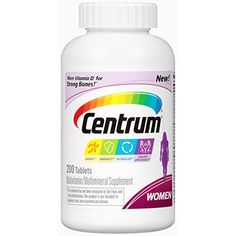 #feelingblesseda #multimask #Centrum Women is a multivitamin personalized for women. Centrum Women now has our highest levels of vitamin D3 for strong bones and ...