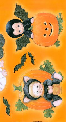 Stickers y Clings Halloween Halloween Gourds, Halloween Rocks, Halloween Items, Halloween Crafts For Kids, Cute Halloween, Vintage Halloween, Halloween Painting, Halloween Drawings, Halloween Pictures
