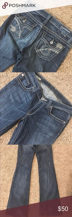 "Big Star Maddie Boot 27XL 35"" Inseam Virtually new only slight wear on bottom backs Big Star Jeans"