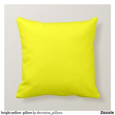 Shop Golden yellow mustard yellow pillow created by Colored_Pillows. Personalize it with photos & text or purchase as is! Yellow Throw Pillows, Modern Throw Pillows, Colorful Pillows, Decorative Throw Pillows, Decor Pillows, Throw Cushions, Mustard Bedding, Custom Pillows, Mustard Yellow