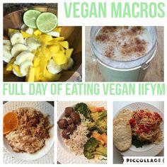 Vegan Macros - Full Day of Eating Vegan IIFYM - HollyBrownFit.com