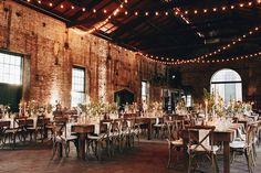 Boho warehouse wedding