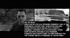 Burn Notice Spy Tips: #649