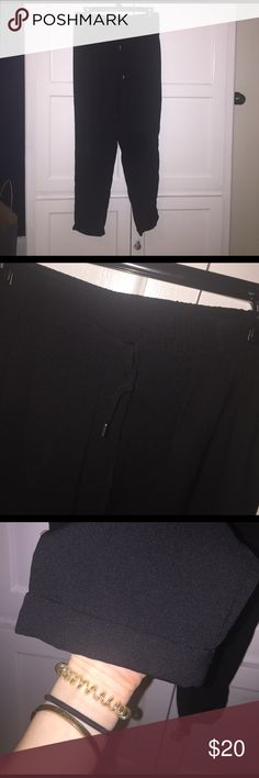 Pants Great parachute pants from Zara. Barley worn but are too big for me! Pants Ankle & Cropped