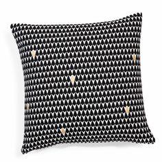 Housse de coussin motifs triangles | Maisons du Monde