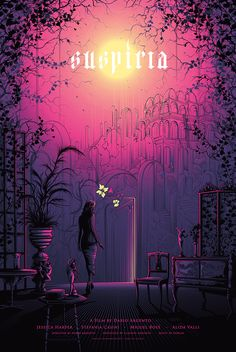 SUSPIRIA Movie Poster 2017 by Dan Mumford