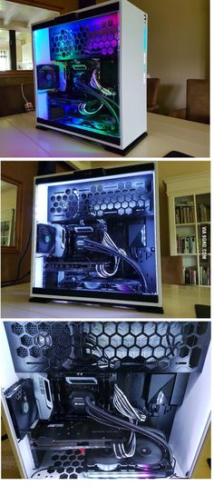 Finished building my own PC! :D