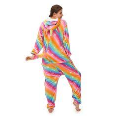 Rainbow Pegasus Pajamas Plush Onesie With A Tail – alfagoody Adult Pajamas, Animal Pajamas, Comfy Pajamas, Onesie Pajamas, Kids Pajamas, Animal Costumes, Club Dresses, Winter Wear