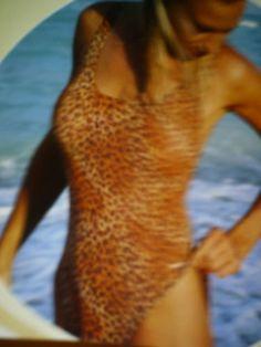 Ladies tan through #swimwear by Solar size 12 £17,50