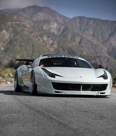 Bad-ass Ferrari 458 Italia #Ferrari458