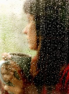 """""""The sound of rain tapping against the window, a warm cup of coffee in your hands, a piece of Ghirardelli chocolate being carried to your lips, and a little bit of Ever After makes the heart feel right at home where no harm can pollute it."""" ― Evie Lynn Fritz"""
