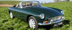 MG MGB classic. dream car when a child. now i want it again!
