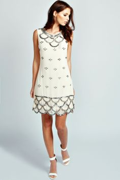 Love this dress. Reminds me of Art Deco