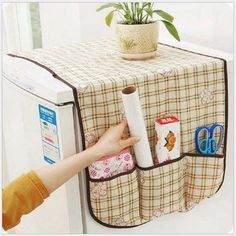 Fridge Lattice Refrigerator Dust Proof Cover Washing Machine Cover Nonwoven Multi-use Pouch Storage Organ Fridge Lattice Refrigerator Dust Proof Cover Washing Machine Cover Nonwoven Multi-use Pouch Storage Organizer Bag Refrigerator Covers, Refrigerator Organization, Storage Organization, Refrigerator Cabinet, Towel Storage, Bag Storage, Washing Machine Cover, Solar Panel Kits, Kitchen Hand Towels