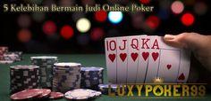 Kini kami ingin memberikan 5 kelebihan bermain judi online poker indonesia bagi anda yang belum tahu tentang permainan judi online poker pakai uang asli.