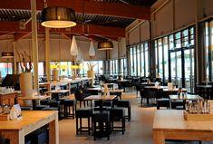 Modern Cafe Interior Stock Photo (Edit Now) 41364319 Cafe Design, Wood Design, House Design, Cafe Interior, Interior Design, Interior Modern, Black Ceiling, Cafe Restaurant, Restaurant Interiors