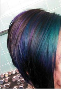 I kind of love this and would so do it if I got the balls to ever cut my hair