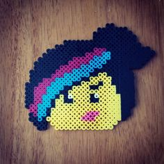 Wyldstyle / Lucy - Lego Movie perler beads by hazelaiden