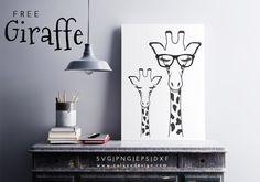 giraffe free svg