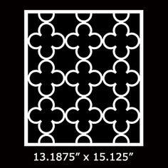 "O'verlay Kit for IKEA PAX (Bergsbo glass or panel door) 76.25"". O'verlays decorative fretwork panels"