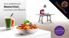 BOSCH Promoción MASTERCHEF Compra uno de los electrodomésticos que aparecen en el programa MasterChef y entra en el sorteo de 10 cursos de cocina online al mes de la Escuela de Cocina MasterChef http://www.materialdirecto.es/es/promociones-fabricantes/75418-bosch-promocion-masterchef.html