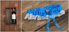 Unity ceremony; nerdy wedding; wine box for love letters; wedding garter; tardis garter; doctor who garter.  From our photographer's blog about our wedding.  Dan & Erin PhotoCinema.
