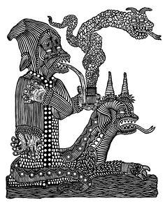 bill mcright black and white print