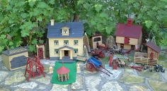 The Farm. Dollhouse set-up.  $4,500.