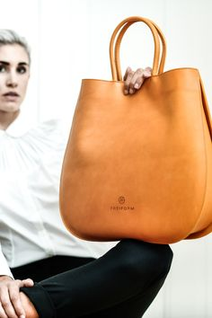 CLOUDY BAG, YELLOW Rind, Madewell, Tote Bag, Yellow, Bags, Fashion, Handmade, Handbags, Leather