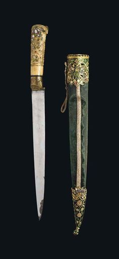 A GEM-SET DAGGER (KARD) mughal india 19th century..
