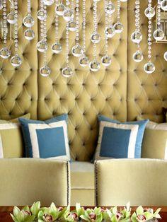 Divine and glamorous velvet wall panels for your home.