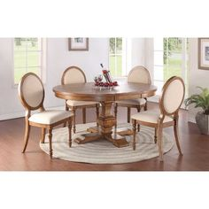 The Winners Only Pedestal Dining Table with 18 in. Leaf is graced by a generous pedestal base and round top. This heirloom-quality dining table is built. Wood Pedestal, Pedestal Dining Table, Solid Wood Dining Table, Dining Table In Kitchen, Extendable Dining Table, Table And Chairs, Side Chairs, A Table, Dining Chairs