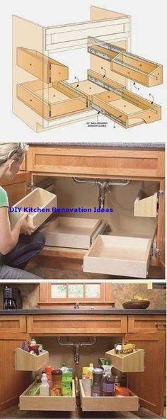 IKEA kitchen cabinets are great as wardrobes. IKEA Hackers – White N Black Kitchen Cabinets Kitchen Organization, Kitchen Storage, Pantry Storage, Storage Spaces, Diy Kitchen Cabinets, Kitchen Remodeling, Bathroom Cabinets, Remodeling Ideas, Kitchen Sink