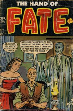 Hand of Fate, Pre-code horror comics