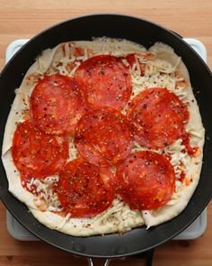 Pizza From Scratch In Less Than 20 Minutes