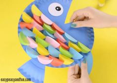 We have a wonderful paper plate fish craft in all the colors of the rainbow to share with you today. Well almost all colors. This is such a fun craft to make as the paper circles used look almost like real fish scales… In a cartoony way. *This post contains affiliate links* I was a …