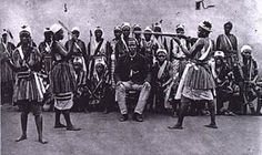 The Dahomey Amazons or Mino were a Fon all-female military regiment of the Kingdom of Dahomey which lasted until the end of the 19th century. They were so named by Western observers and historians due to their similarity to the semi-mythical Amazons of ancient Anatolia and the Black Sea.