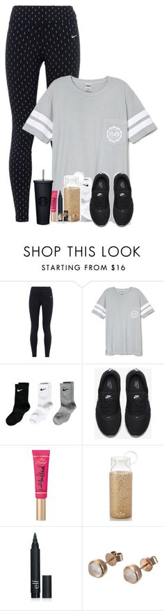 """Comment for a tbh "" by fashionpassion2002 ❤ liked on Polyvore featuring NIKE, Victoria's Secret, Too Faced Cosmetics, Kate Spade, London Road, women's clothing, women, female, woman and misses"