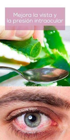 Remedio natural para mejorar la vista y la presión intraocular, a base de aloe vera. Es simple y fácil de hacer.
