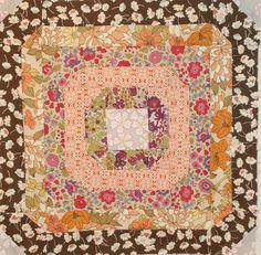 "up on the Blue Nickel Blog...Aurifil's October Designer of the Month Block "" Circle of Love"" http://bluenickelstudios.com/?p=7362"