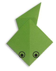 Easy Origami For Kids | Tadpole