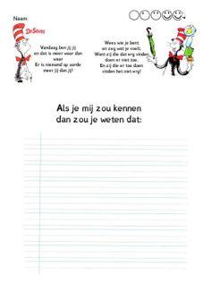 Creatief schrijven | Indeklas.jouwweb.nl First Day Of School, Back To School, School Tool, Yoga For Kids, Writing Activities, 5th Grades, Creative Writing, Kids Learning, Spelling