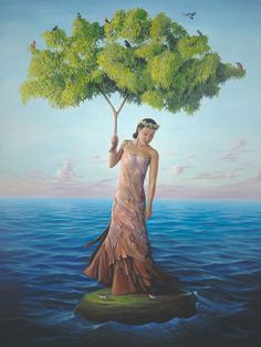 Paul David Bond, 1964 ~ Surrealist painter
