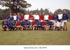 The England World Cup Squad At Lilleshall Hall Training Camp Prior To Stock Photo, Picture And Royalty Free Image. Pic. 24624651