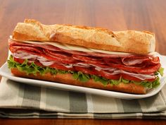 Classic Italian Sub. One of over 200 delicious recipes from Boar's Head.
