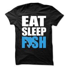 EAT, SLEEP, FISH - #tshirt inspiration #off the shoulder sweatshirt. HURRY => https://www.sunfrog.com/Fishing/EAT-SLEEP-FISH-61751093-Guys.html?68278