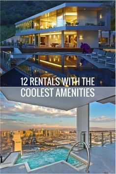 Forget everything you think you know about amenities. From penthouse pools to secret passageways, these luxe vacation rentals take the comforts of home to a whole new level. Great Places, Places To Visit, Travelling Tips, Traveling, Blackout Blinds, Water Slides, Open Up, Trip Advisor, Travel Inspiration