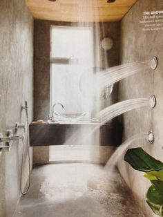 Bathroom- found in Dwell magazine.