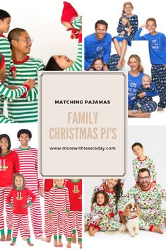 Family Christmas Pajama Sets – Best Matching Holidays PJs for Everyone 2018  Edition 4c6557885