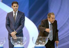 PK202 FSS. Costa Do Sauipe (Brazil), 06/12/2013.- Former Spanish national soccer player Fernando Hierro (L) and former Italian and Urugayan ...